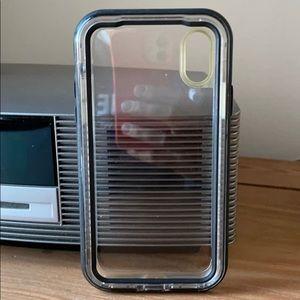 iPhone X (10) clear phone case